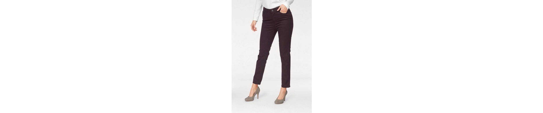 STOOKER WOMEN Straight-Jeans, Zermatt, extra schlank am Oberschenkel, ohne Waschung