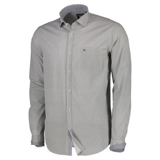 LERROS Langarmhemd mit Alloverprint