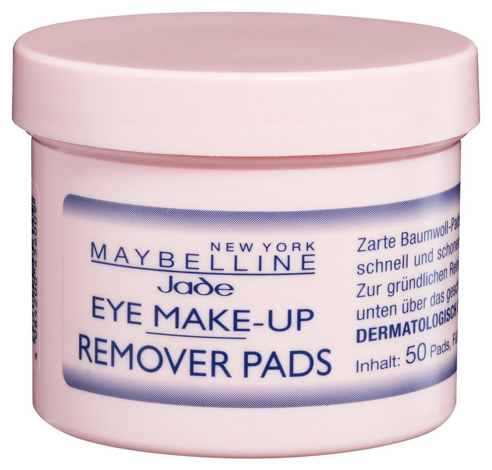 Maybelline New York Eye Make Up Remover Pads Augen Make Up