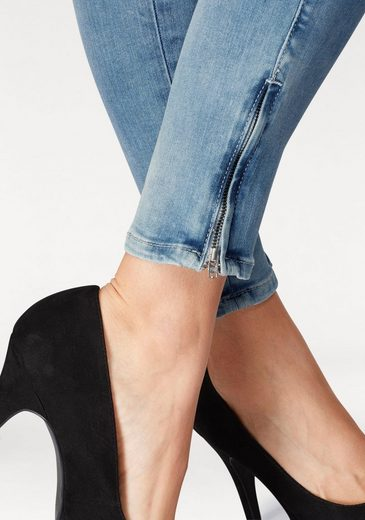 Pepe Jeans Skinny-fit-Jeans CHER, mit Zip-Ankle
