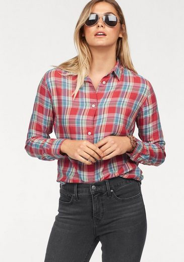 Levi's® Hemdbluse Avery-Shirt, Verdeckte Knopfleiste im Rücken