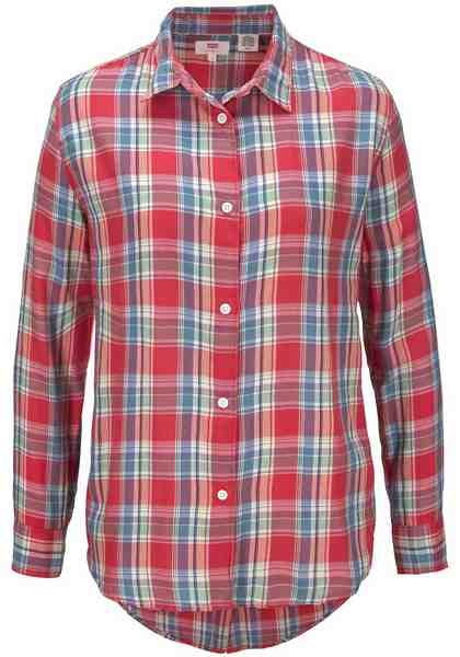Levi's® Hemdbluse »Avery-Shirt«, Verdeckte Knopfleiste im Rücken