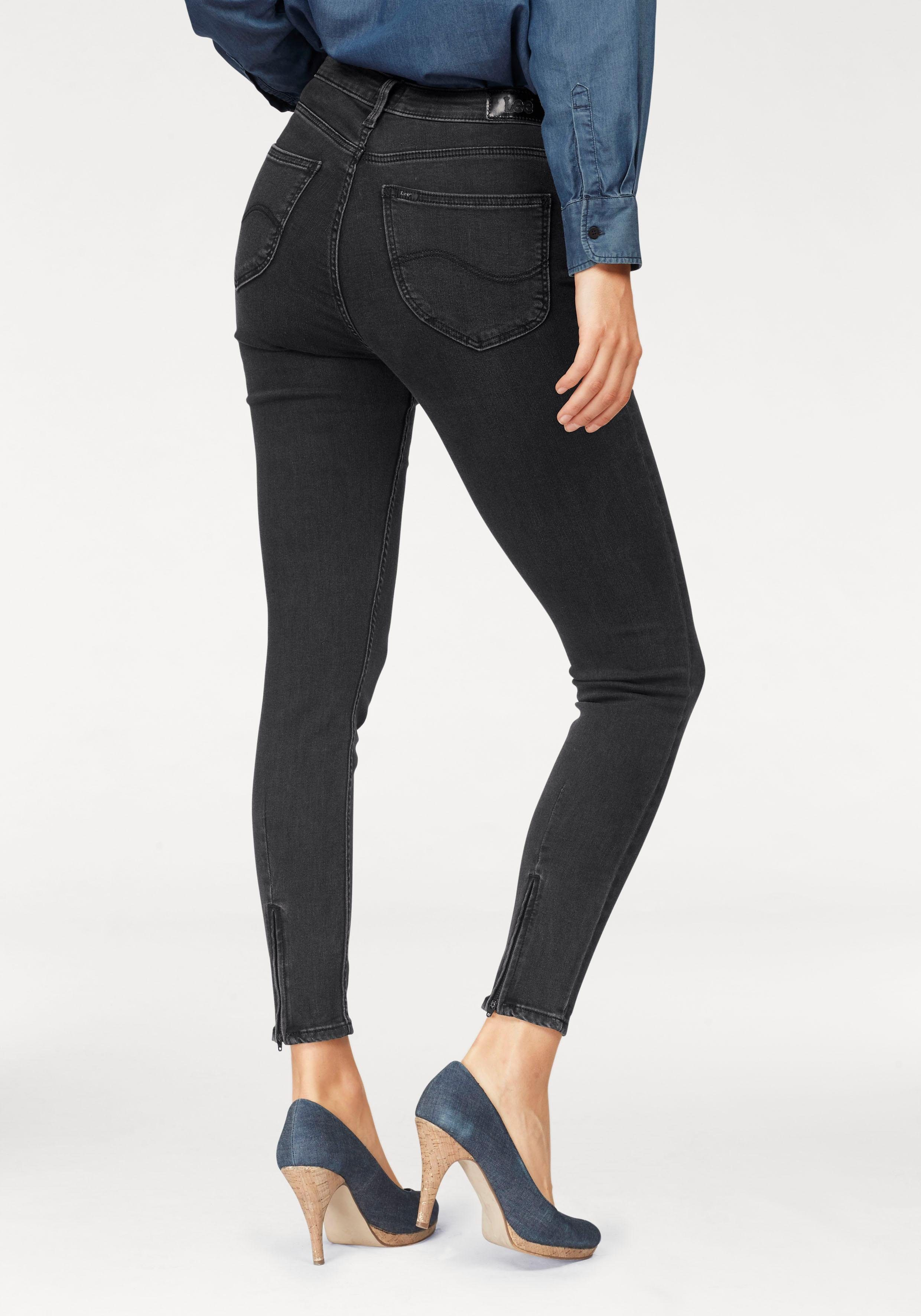 Lee® Stretch-Jeans »Scarlett High Cropped« in 5-Pocket-Form