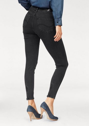 Jean Stretch Lee® Scarlett Haute Cropped, Sous Forme De 5 Poches