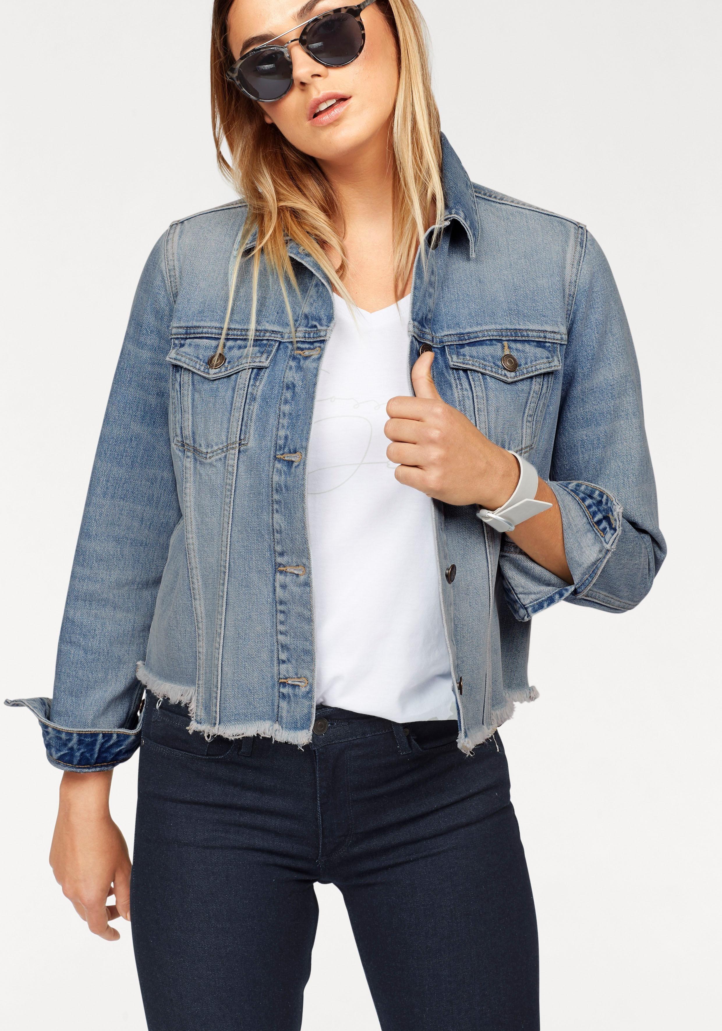 Denim jeansjacke