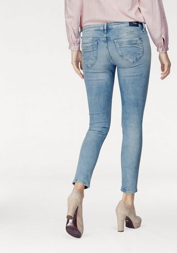 Pepe Jeans Skinny-fit-Jeans RIPPLE, mit coolen Steppdetails