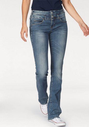 Herrlicher Bootcut-Jeans Baby Boot, mit 2-Knopf-Bund