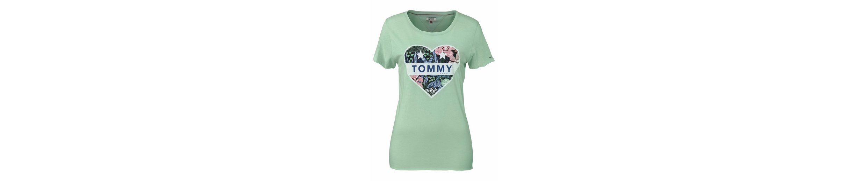 TOMMY JEANS T-Shirt, mit herzförmigem Frontprint