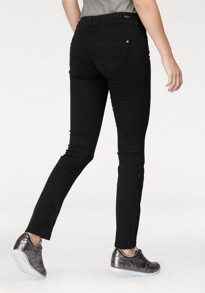 finest selection 75c83 2b271 Pepe Jeans Slim-fit-Jeans »NEW BROOKE« mit Reißverschluss-Tasche online  kaufen | OTTO