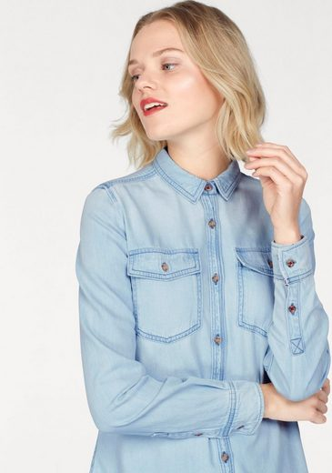 Tommy Jeans Jean Blouse, With A Classic Design
