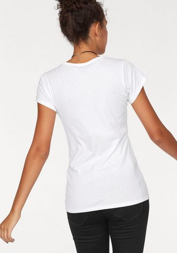 G-Star RAW V-Shirt Monthon, mit Logo-Frontdruck