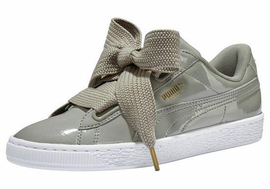 PUMA »Basket Heart Patent« Sneaker