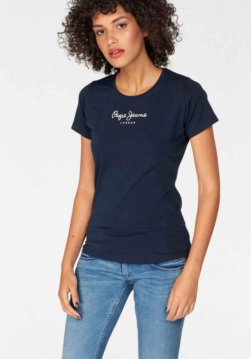 Pepe Jeans T-Shirt »NEW VIRGINIA« mit Logo-Print