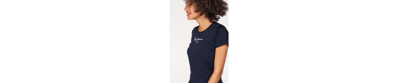 Pepe Jeans T-Shirt NEW VIRGINIA, mit Logo-Print