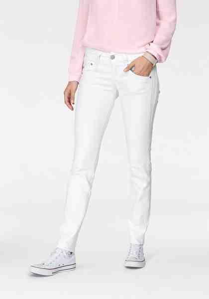 Herrlicher Slim-fit-Jeans »GILA SLIM« Low Waist Destroyed Effekte