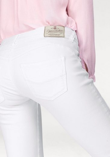 Waist fit Effekte »gila Low Slim« Herrlicher Destroyed Slim jeans cpqZywY5