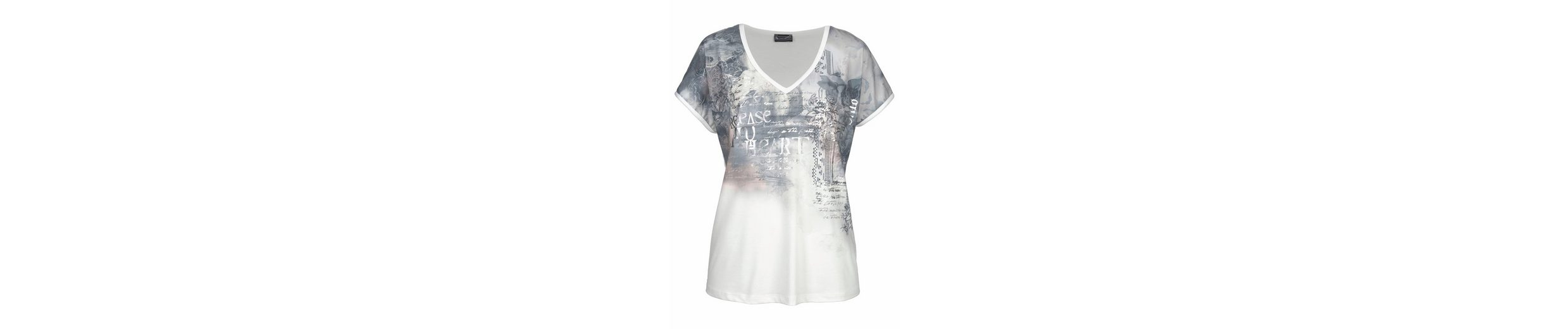 Laura Scott V-Shirt, mit modischem Print