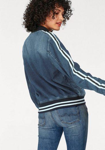 Pepe Jeans Blousonjacke BRADY TAPE, im College-Design