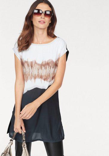Laura Scott Rundhalsshirt, mit modischem Print