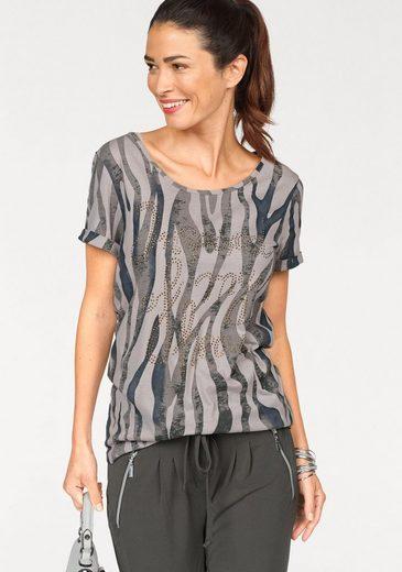 Laura Scott T-Shirt, mit Nietendetails