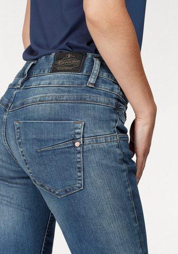 Herrlicher Mom-Jeans Bijou, mit auffälliger Knopfleiste