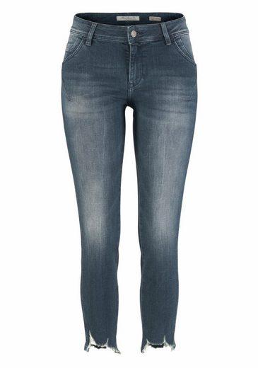 Mavi Jeans Ankle-Jeans ADRIANA ANKLE, im Used-Look