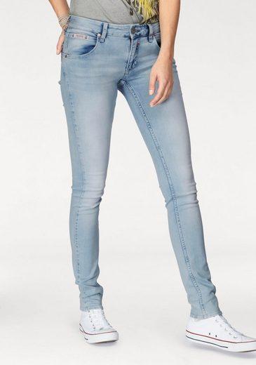 Herrlicher Slim-fit-Jeans Touch Slim, mit abgerundeter Seitennaht