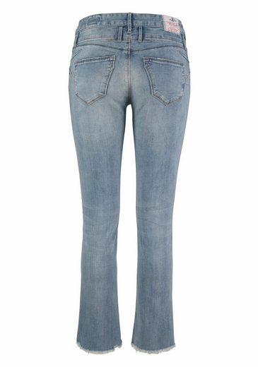 Bootcut Normal Off Cut jeans Waist Cropped« »baby Herrlicher 4fxdwqB4