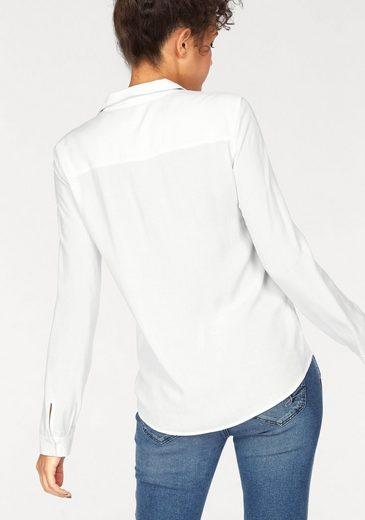 Mavi Jeans Hemdbluse LONGSLEEVE SHIRT, mit aufgesetzter Brusttasche