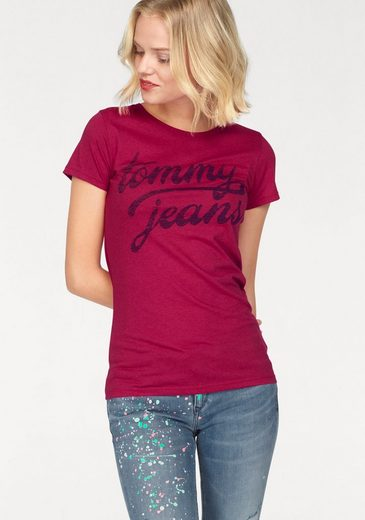 TOMMY JEANS T-Shirt, mit Logo-Print