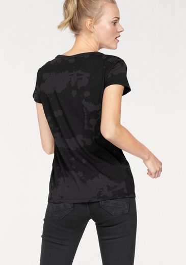 G-Star RAW Rundhalsshirt Trozera, mit Alloverdruck