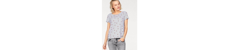 AJC T-Shirt, mit Streifen und kleinen Herzchen
