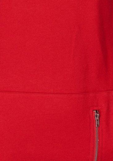 Ajc Zierreißverschluss Kängurutasche Mit Longsweatshirt An RS7R6zqr