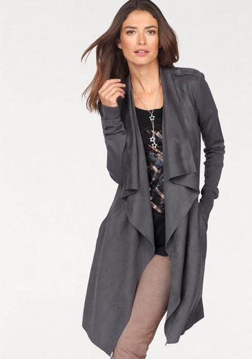 Laura Scott Long Sweater, Softly Falling Collar