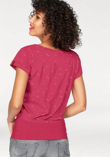 alife and kickin T-Shirt COCO, mit Pusteblumen Print