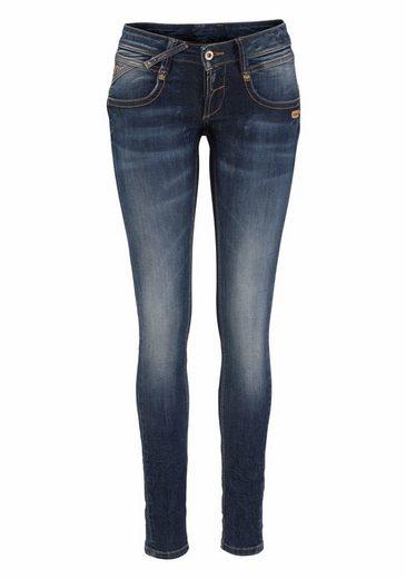 GANG Skinny-fit-Jeans NENA, in Crash Optik