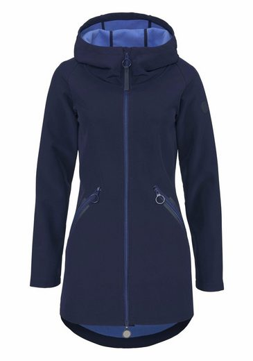Bench Softshell Coat With Contrast Lining