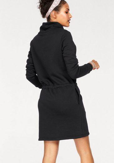 Bench Sweatkleid, mit Nicki-Qualität im Innenkragen