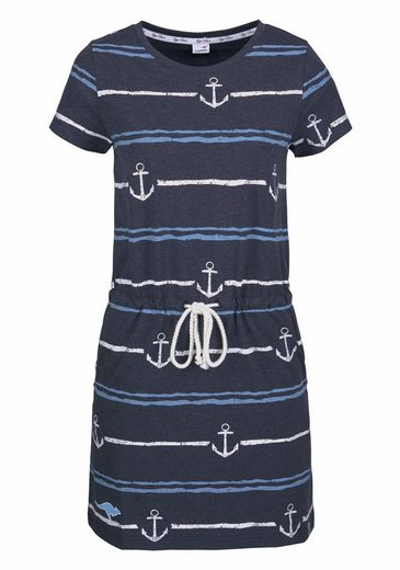 Kangaroos Shirt Dress, In Great Pressure Or Plain