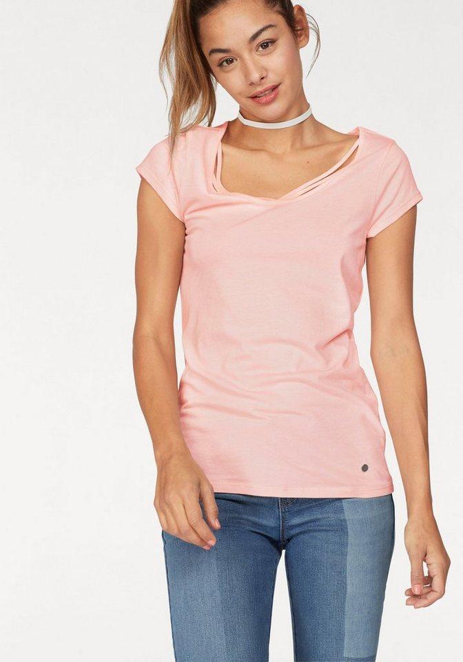 e31eb7ff2bfc2 AJC T-Shirt mit Verzierung am Ausschnitt kaufen   OTTO
