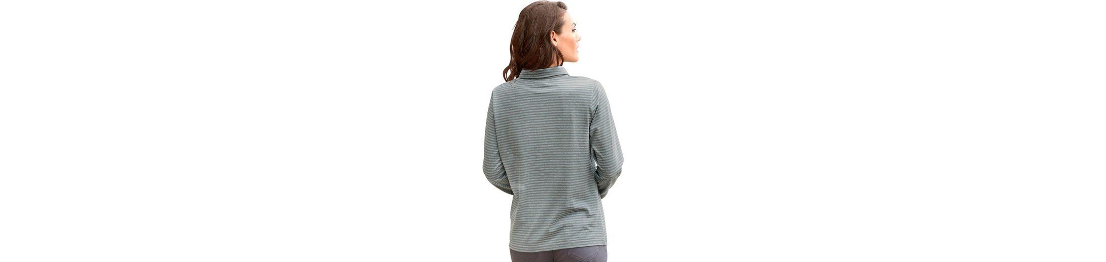 Günstiger Preis In Deutschland Verkauf Großhandelspreis Collection L. Shirt im garngefärbten Melange Ringel 9C4Q8wEhU
