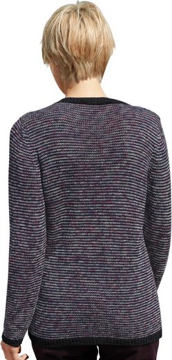 Collection L. Pullover From A Striking Melangegarn