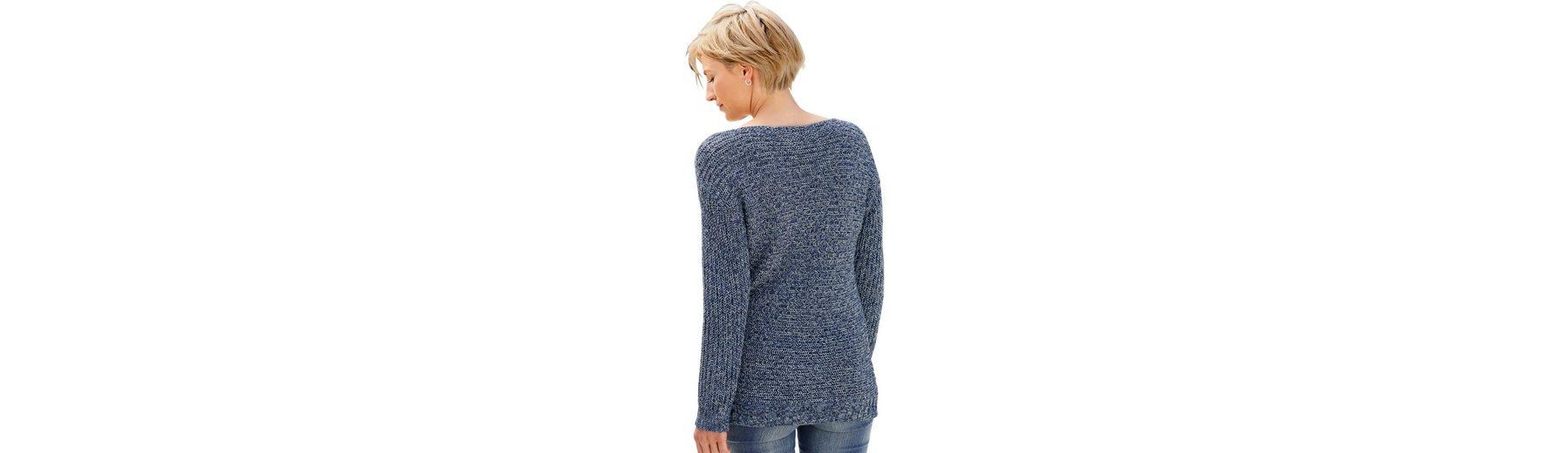 Collection L. Pullover aus weichem Melangegarn Auslass Extrem Billig Verkaufen Mode Große Überraschung Online Billig Perfekt TYHgKECeuL