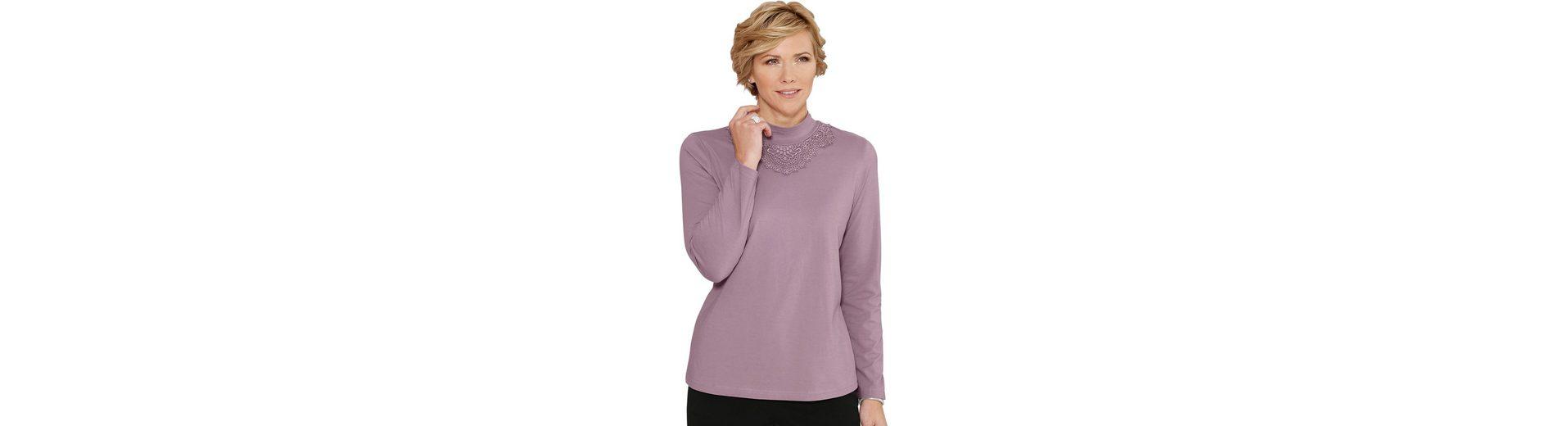 Classic Shirt mit aufwändiger Spitze Ebay Online Niedrige Versandgebühr Günstiger Preis Am Billigsten Guter Service 3chz5