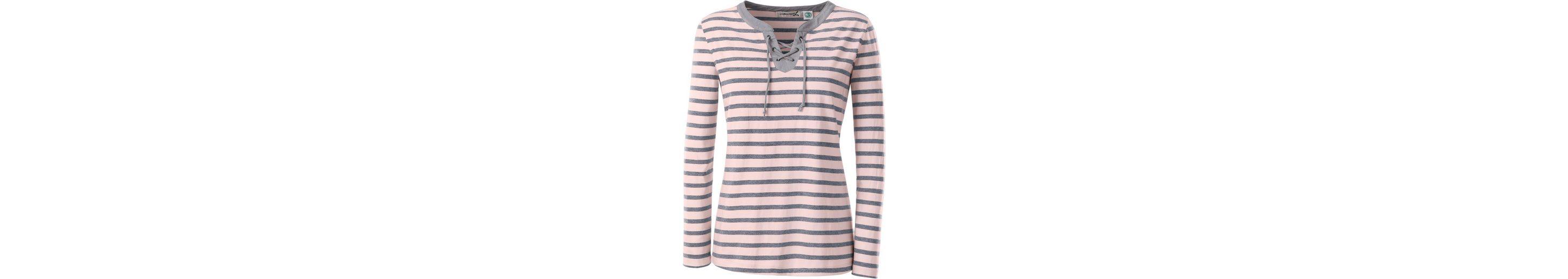 Collection L. Shirt mit Bindeband und Ösenzier am Ausschnitt Shop Online-Verkauf Gut Verkaufen Online Mit Paypal Zu Verkaufen Bestseller Verkauf Online AG9Oy