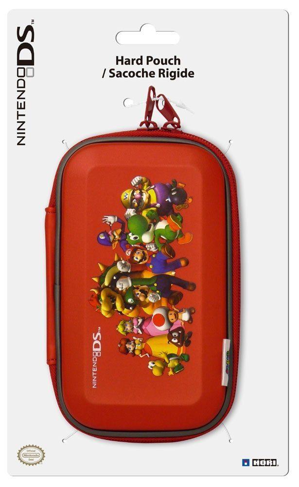 Hori Nintendo DSi - Zubehör »DSi Super Mario Family-Tragetasche (Hard Pouch)«