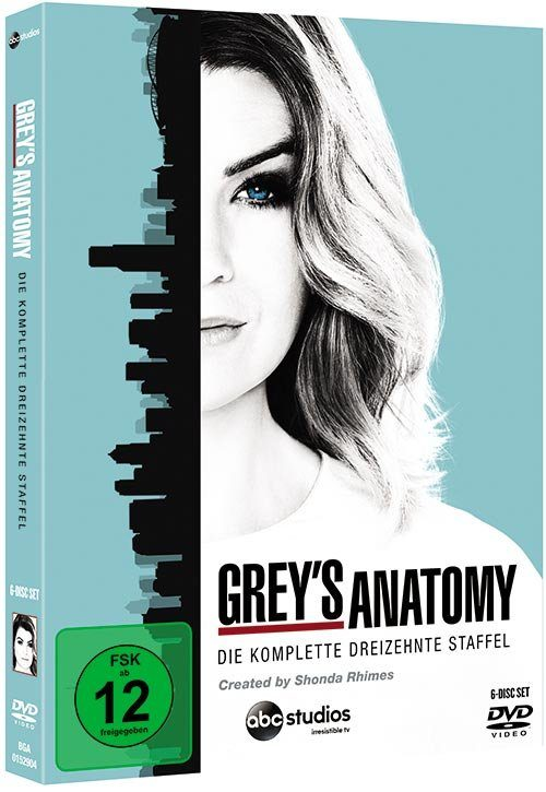 Disney DVD - Film »Grey's Anatomy - Season 13«