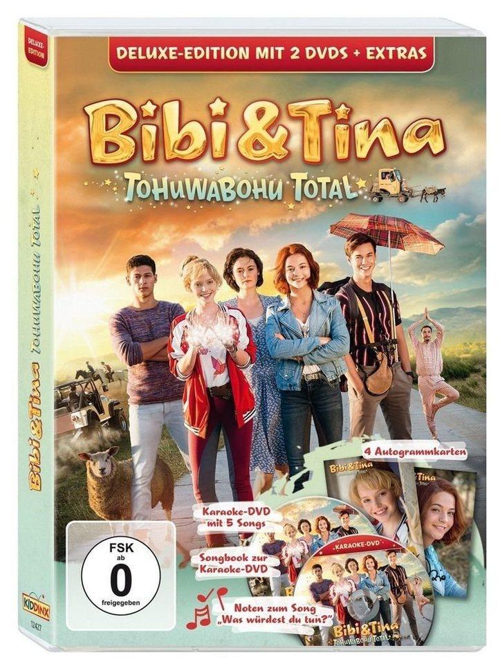 kiddinx dvd  film »bibi  tina 4 tohuwabohu total