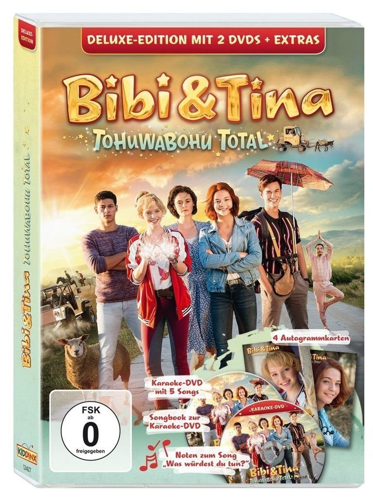 Kiddinx DVD - Film »Bibi & Tina 4: Tohuwabohu total - Deluxe(Kinofilm)«