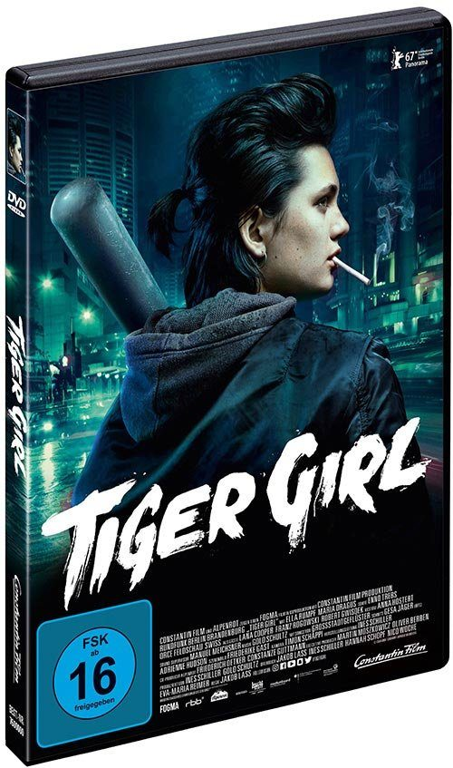 Universal DVD - Film »Tiger Girl«